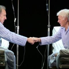 MOINS 2- Guy Bedos et Philippe Magnan – Théâtre Hébertot