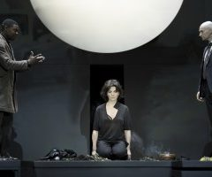 Antigone, Juliette Binoche, Théâtre de la ville