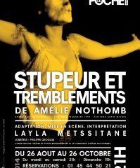 Stupeur et tremblement d'Amélie Nothomb au Théâtre de Poche