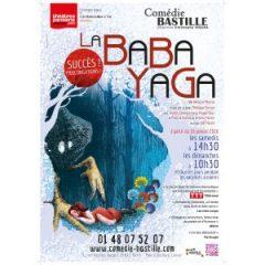 Baba Yaga,  Héloïse Martin, compagnie Carabistouilles, Comédie Bastille