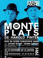 Le monte-plats, Harold Pinter, Poche Montparnasse