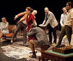 Platonov, Anton Tchekhov, collectif Les Possédés, Théâtre de la Colline