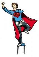 Christophe Alévêque est Super Rebelle !…enfin ce qu'il en reste