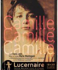 Camille, Camille, Camille, Sophie Jabès, Lucernaire