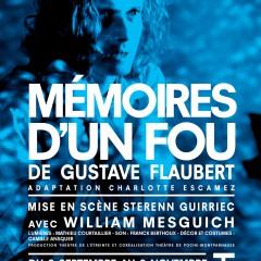 Mémoires d'un fou, Gustave Flaubert, Sterenn Guirriec, Poche Montparnasse