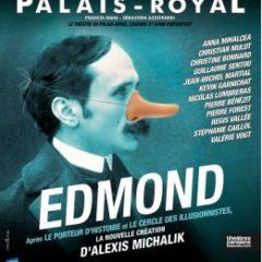 Edmond, Alexis Michalik, Théâtre du Palais royal