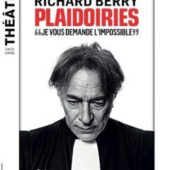 Plaidoiries, Eric Théobald, Matthieu Aron, Richard Berry, Théâtre Antoine