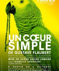 Un coeur simple, Gustave Flaubert, Xavier Lemaire, Poche Montparnasse