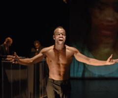 Samo, a tribute to Basquiat, Laëtitia Guédon,  Koffi Kwahulé, Théâtre de la Tempête