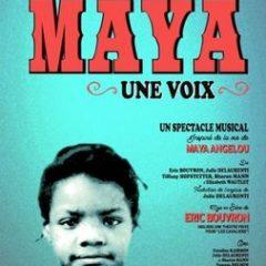 Maya une voix, Eric Bouvron, Théâtre Essaion